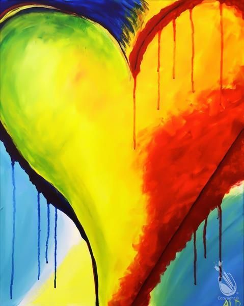 How to Paint 1 Day Registration~KIDS CLASS~Love Peter Max Style