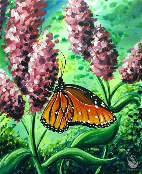 How to Paint Butterly Sonata - All Ages Welcome!