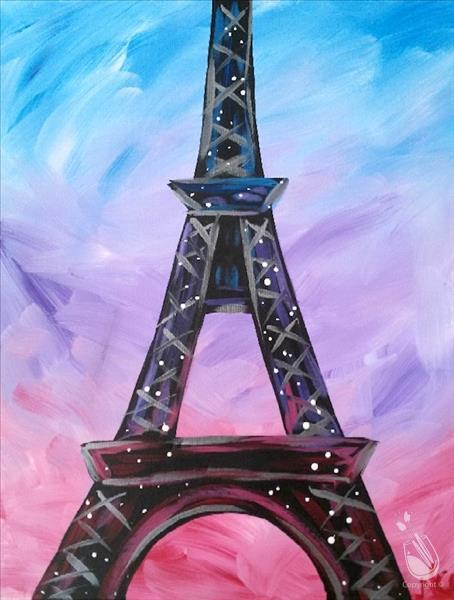 VIRTUAL OR IN STUDIO: Summer Fun! Pretty in Paris
