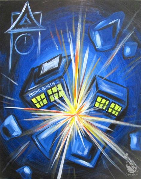 How to Paint Dr Who TRIVIA & PRIZES 18+