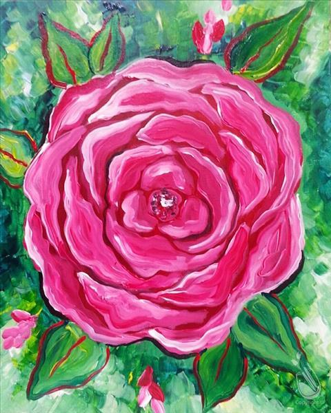 A Beautiful Rose - In Studio Class!