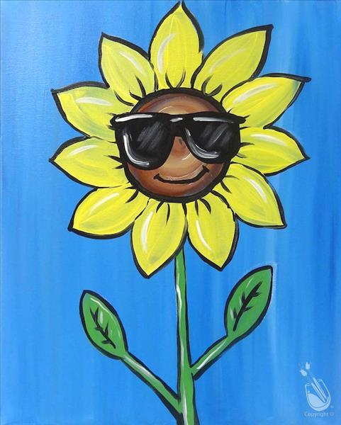Cool Sunflower- Kids Class