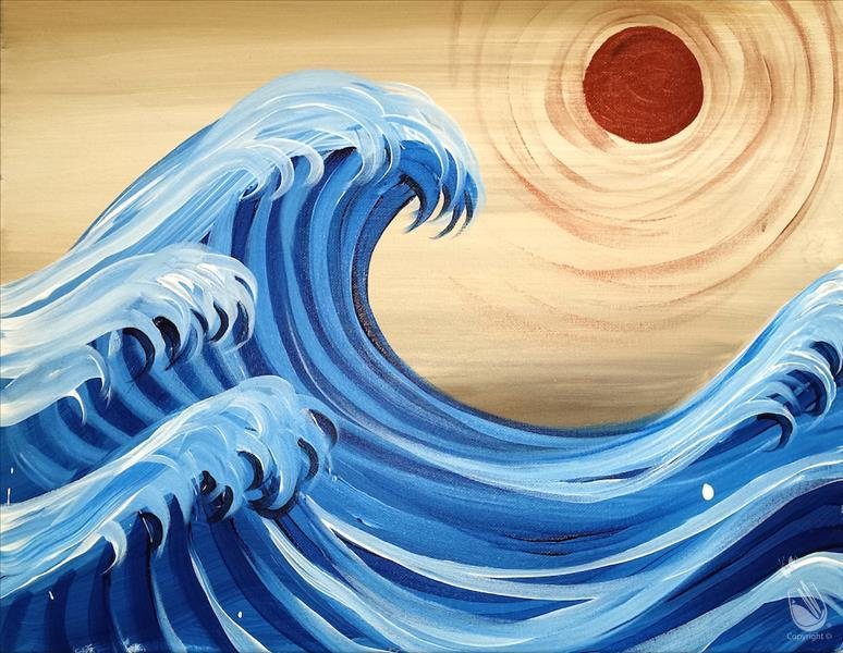 KIDS CAMP: THE GREAT WAVE, Ages 8-14