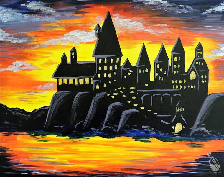 How to Paint The Wizard's Castle Trivia Night - Teens & Up!
