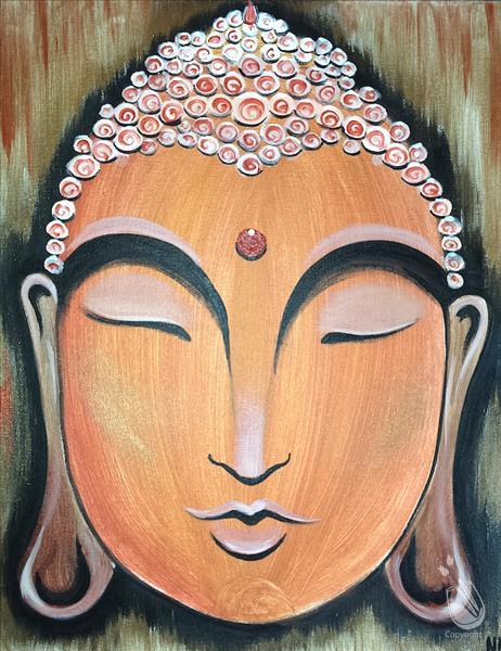 How to Paint Golden Buddha