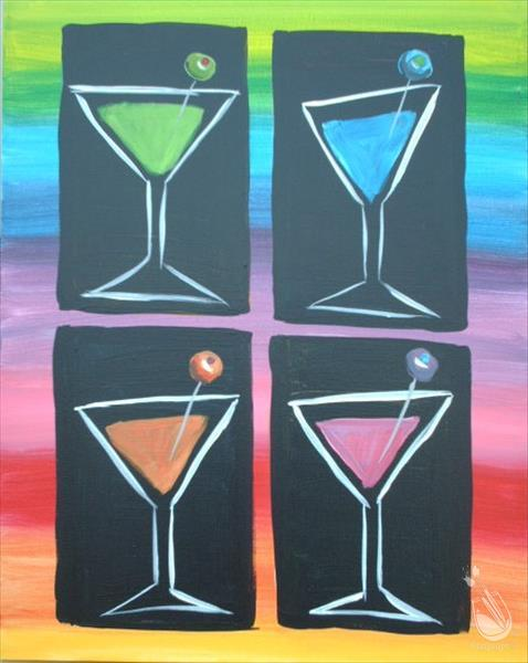 Martinis Squared  **LIMITED SEATING**