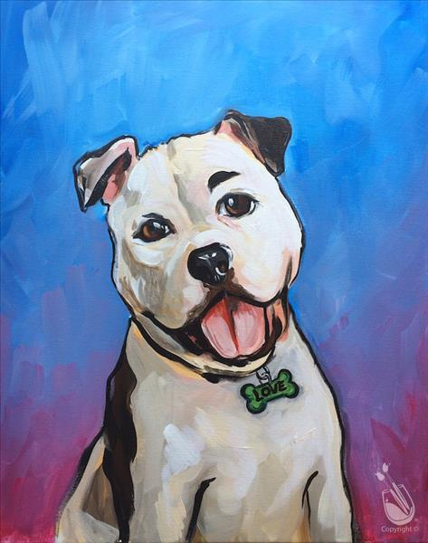 Paint Your Pet - In Studio Class!
