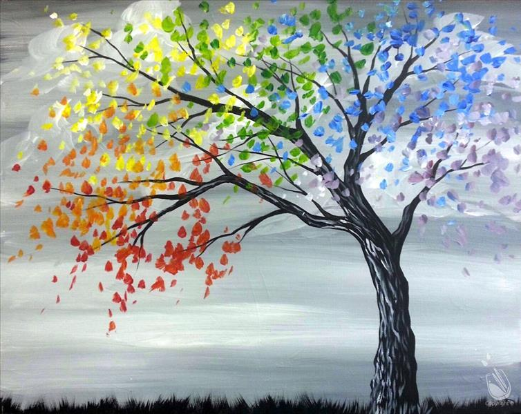 Come paint a happy tree