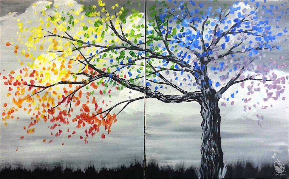 How to Paint Happy Tree - Set/Choice