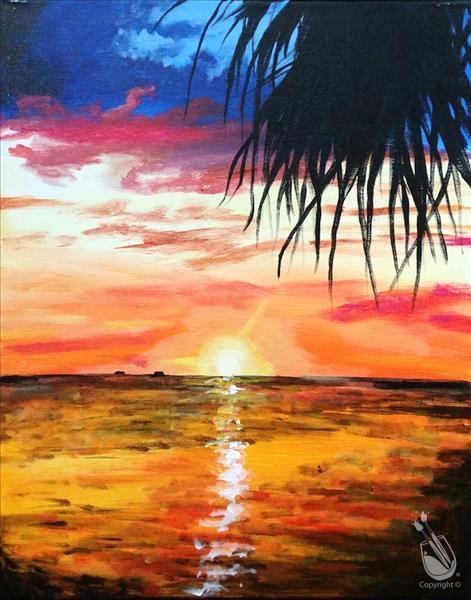 How to Paint ***IN STUDIO*** Sunset Splendor