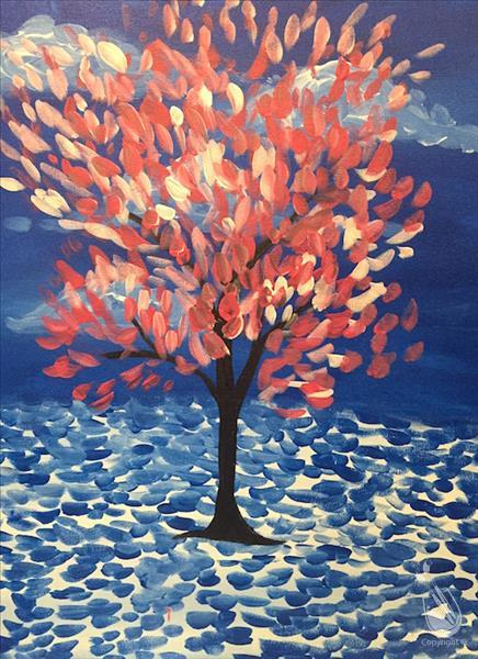 Kids Van Gogh Peach Tree