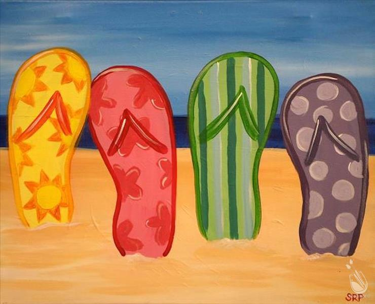 Summertime Flip Flops- Fam Day!!!