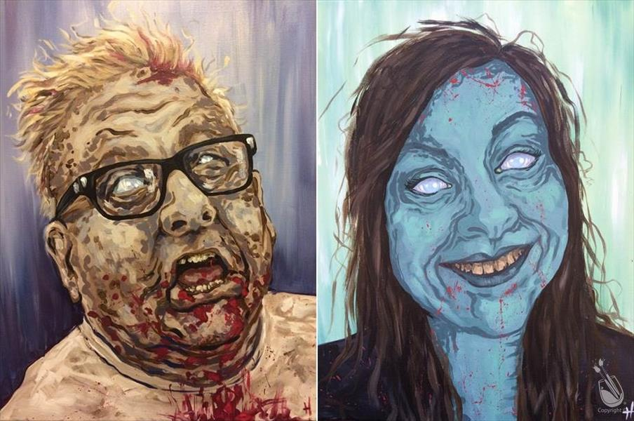 Zombie Couple - Set **PUBLIC**