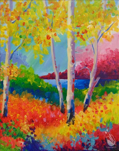 Vibrant Forest-In Person Class
