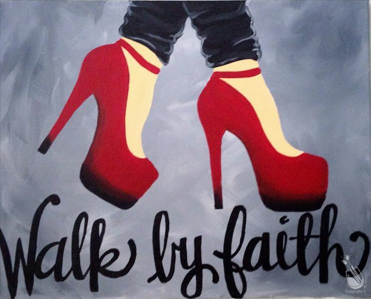 Walk by Faith-GNO with US! 18+