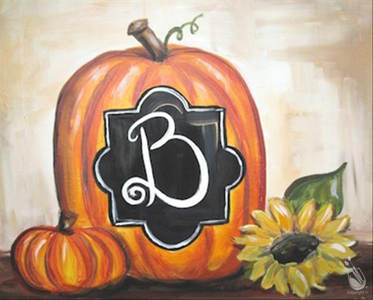 Monogram Pumpkin (Ages 15+)
