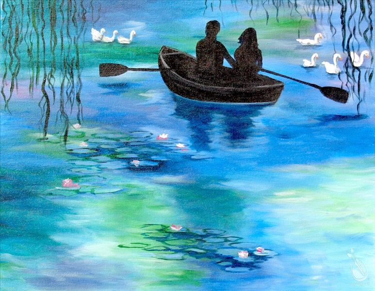 How to Paint Monet's Love Boat
