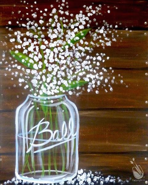 In Studio- Baby's Breath Bouquet (21+)