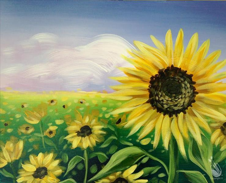 "NEW ART! ""Hello Sunshine"" Ages 18+ Welcome"
