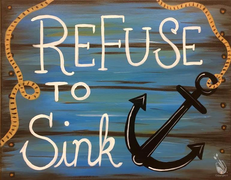 PUBLIC CLASS (Refuse to Sink)