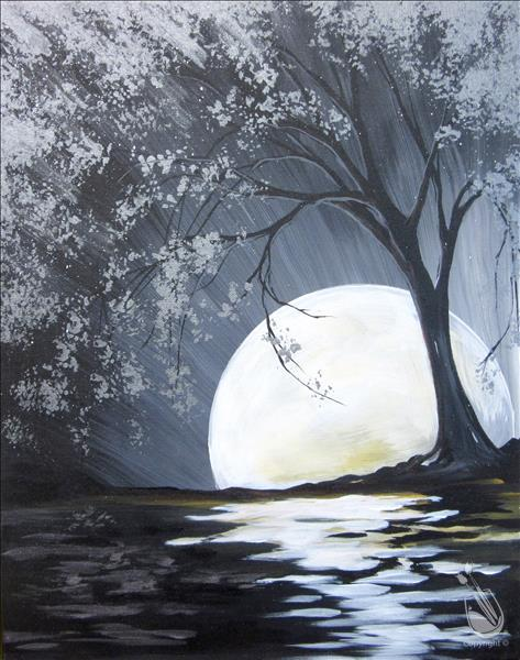 How to Paint Moon River