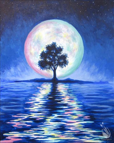 How to Paint TEEN NIGHT ~ Colors of the Moon