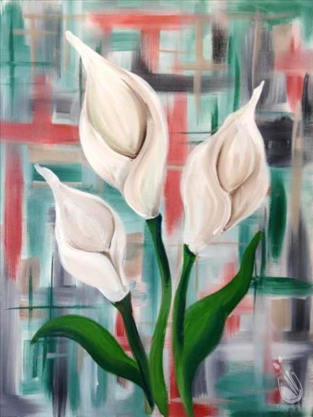 **Calla Lillies in Bloom**