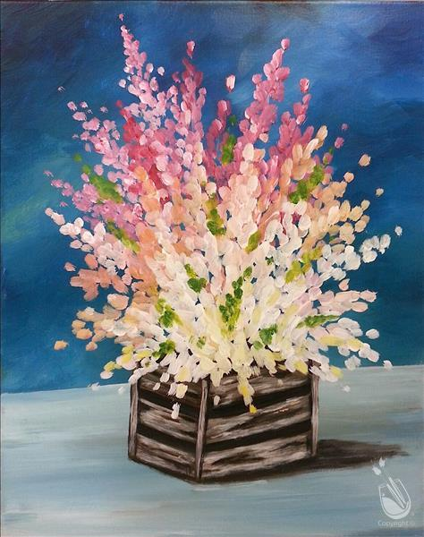 How to Paint Vivid Rustic Flowers