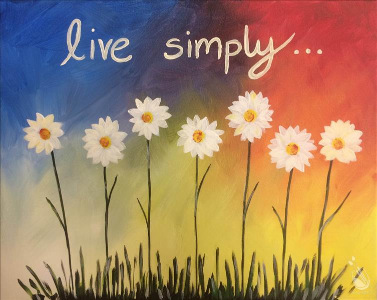 How to Paint Live Simply (Personalize!)