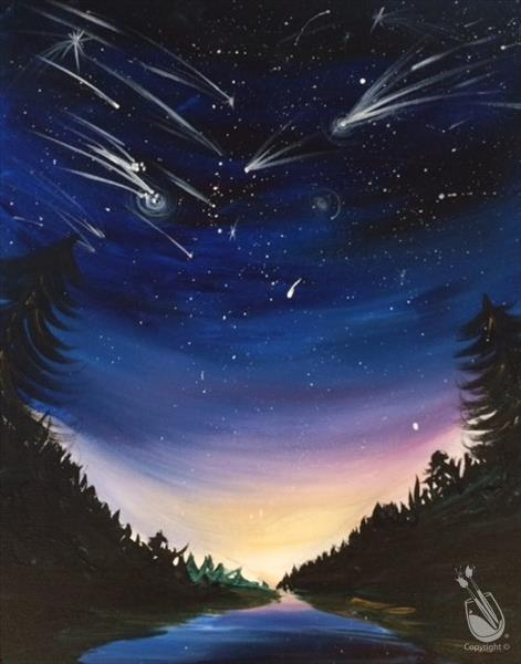 How to Paint Catch a Shooting Star