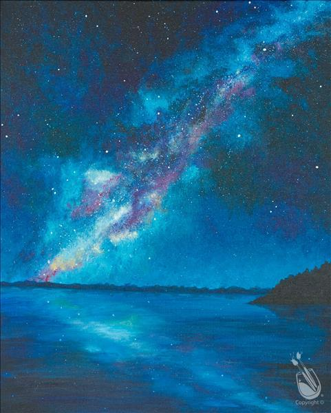 How to Paint A Milky Way Swim