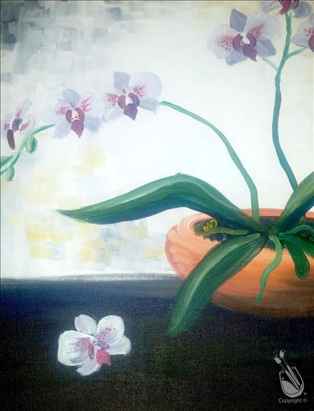 How to Paint An Orchid in View