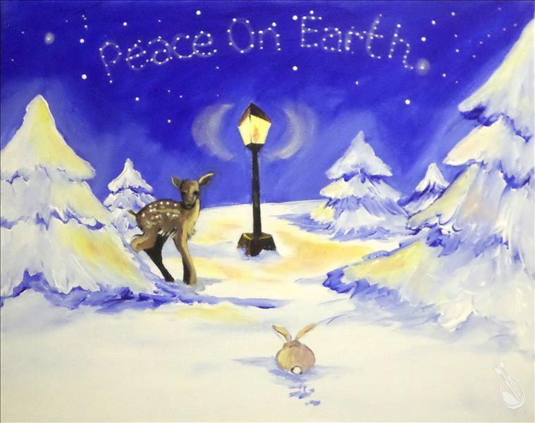 How to Paint Peace on Earth