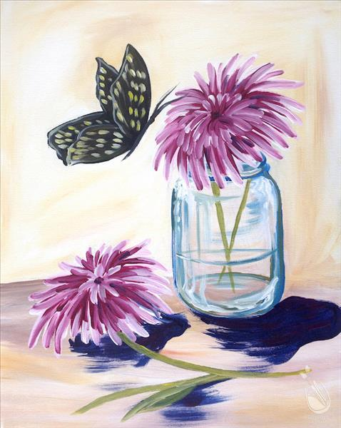 Butterfly Mums-In Person Class