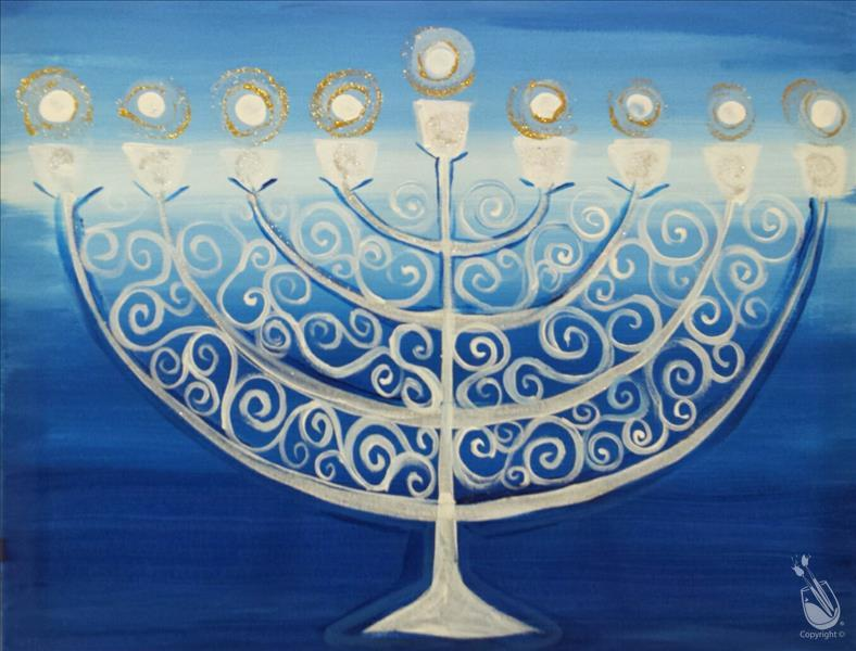 How to Paint Chanukah pARTy