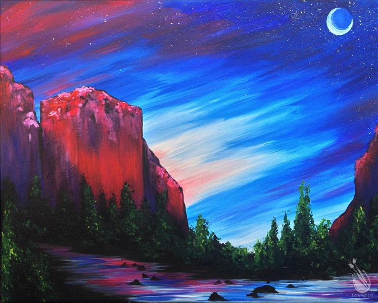 YOSEMITE AT NIGHT**Public BLACKLIGHT Event**