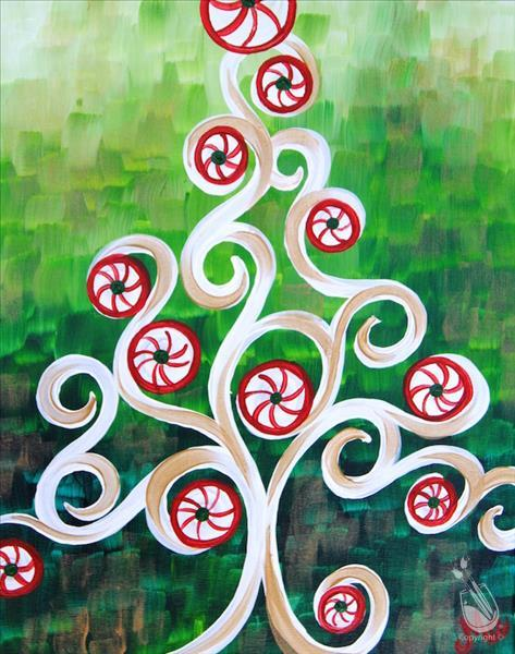 Peppermint Swirl Tree