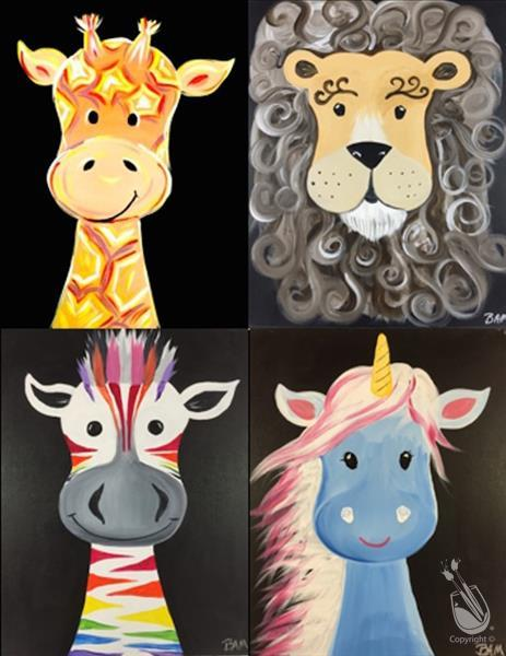 Animal Crackers Series - Pick Your Favorite!