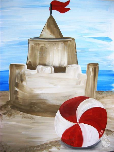 How to Paint KIDS CLASS - Sand Castle