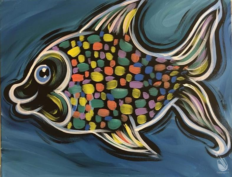 FAMILY FUN: Neon Rainbow Fish: Ages 6+