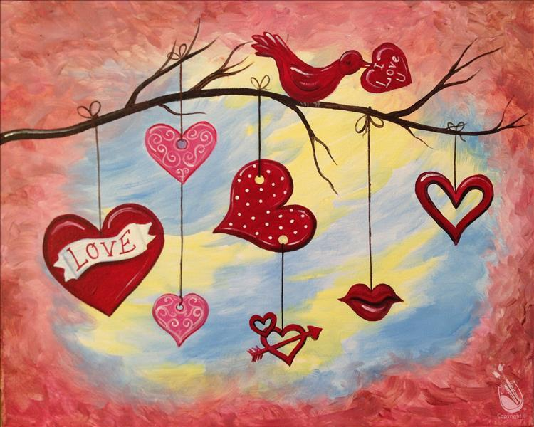 Love Nest Friday February 15 2019 Painting With A Twist Miami