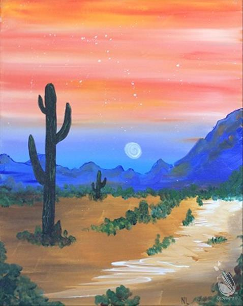 VIrtual LIVE Wednesday - Sedona Sunset