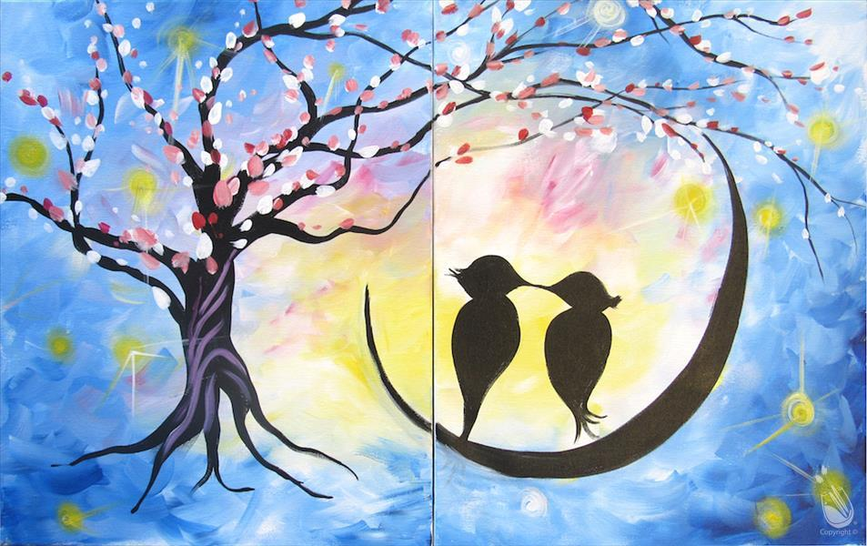 Star Crossed Love Birds  (Couples Purchase 2)