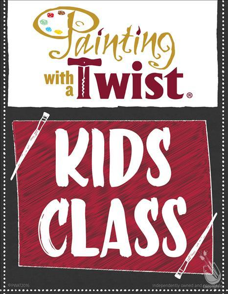 How to Paint KIDS CLASS-FULL WEEK REGISTRATION