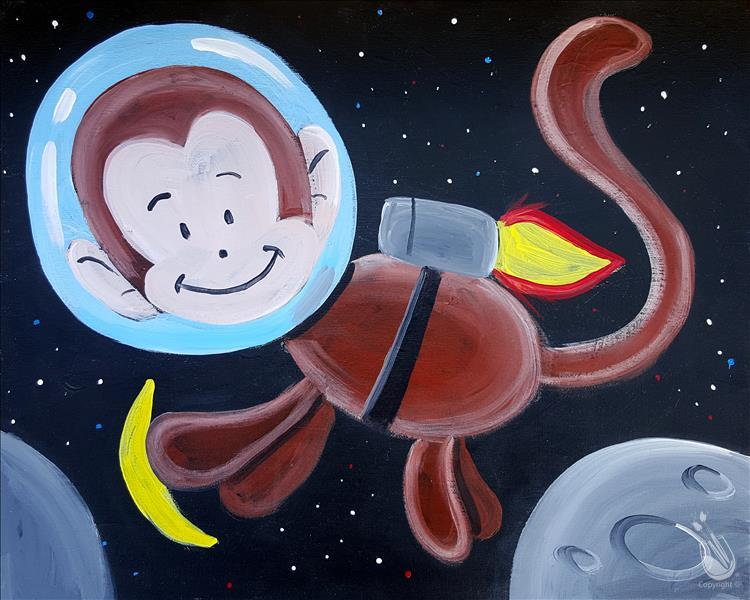 Space Animals - Monkey (Public Family Event)