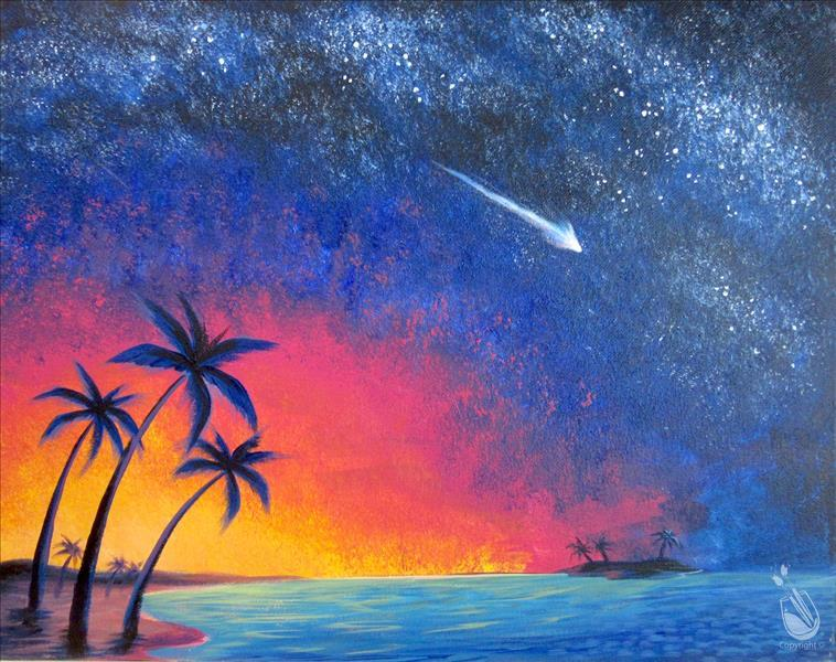 Sip & Paint a Shooting Star