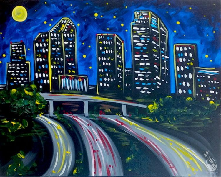 How to Paint Houston Lights