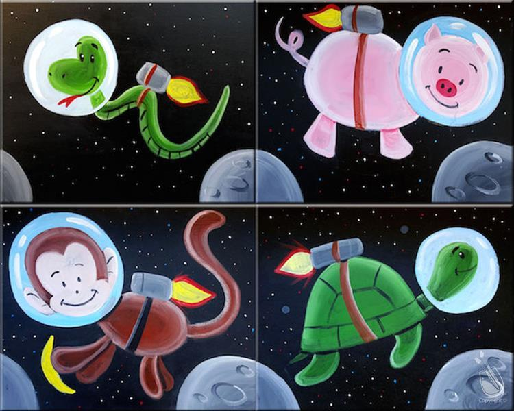 Space Animals - FAMILY FUN
