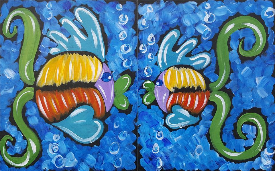 MOTHERS DAY***Fishy Family Series - Kisses Set
