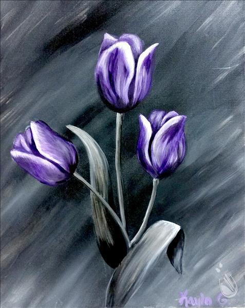 How to Paint Tasteful Tulips